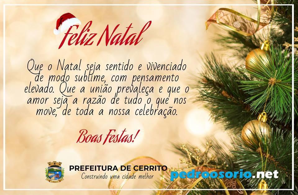 Pedroosorionet Feliz Natal A Todos E Um Próspero 2019